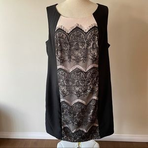 Forever 21+ Black Lace Dress Size 3X NWT